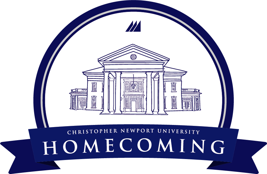 Christopher Newport Homecoming logo