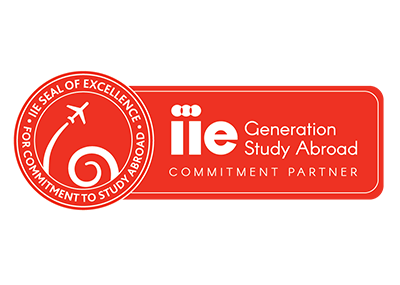 IIE Generation Study Abroad Seal of Excellence logo