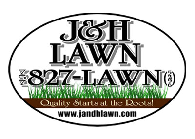 J and H Lawn logo