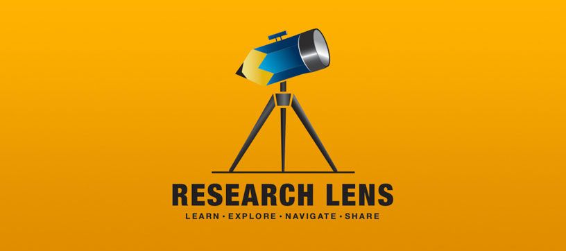 Research Lens logo