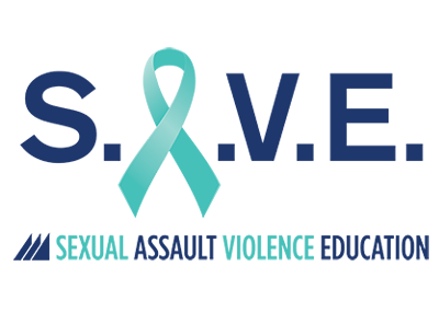 Sexual Assault and Violence Education logo