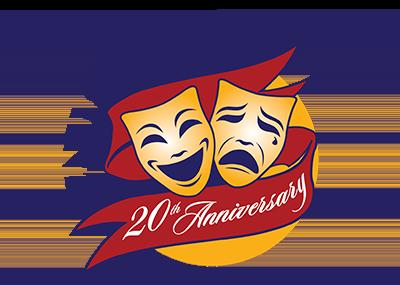 Theatre Guild 20th Anniversary logo
