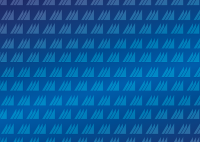 CNU sails on blue background