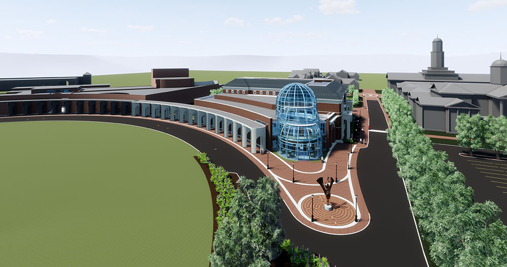 Fine Arts Center rendering