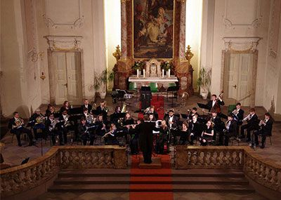 Wind Ensemble in Mannheim, Germany