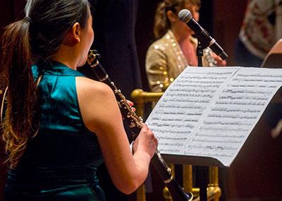 Win ensemble student clarinet