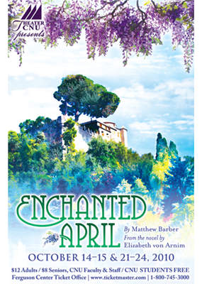 Enchanted April poster
