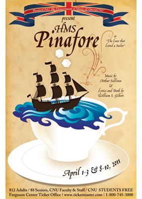 HMS Pinafore poster