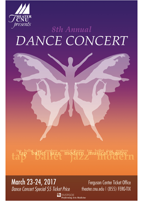8th Annual Dance Concert poster