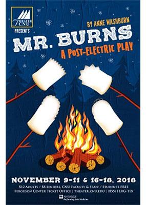 Mr Burns poster