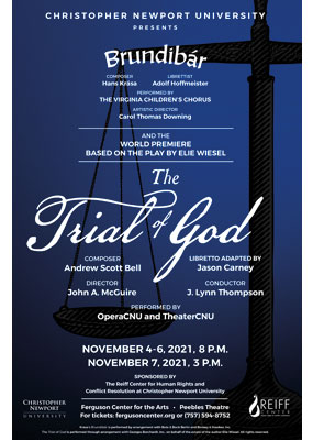 Brundibar and the Trial of God theater poster