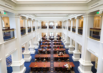 Trible Library reading room