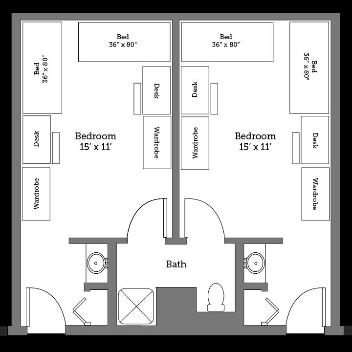 York River layout
