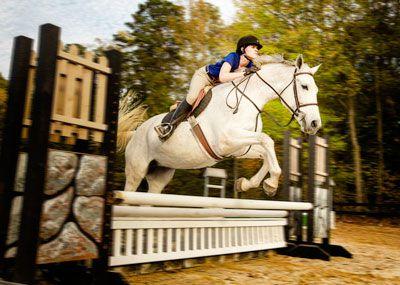 CNU equestrian team