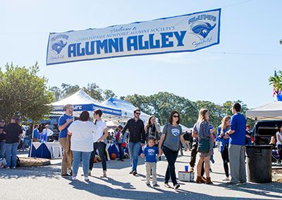 Alumni Alley entrance