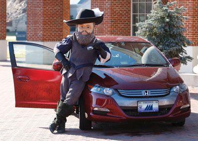 Captain Chris with car