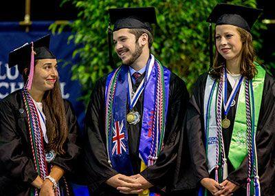2017 Klich Award Winners Brook Byrd, Emily Egress and Benjamin Miller