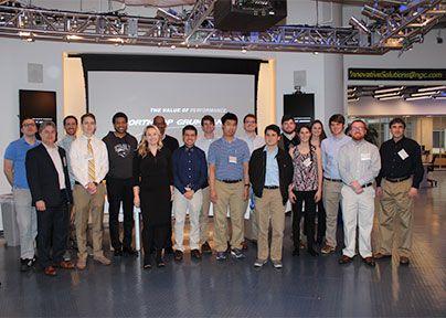 CNU Students at Northrop Grumman
