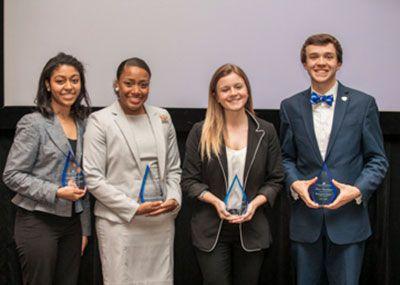 Recipients of the 2018 Dean's Service Award