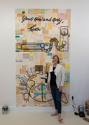 Christi Harris with work from Paper Marriage