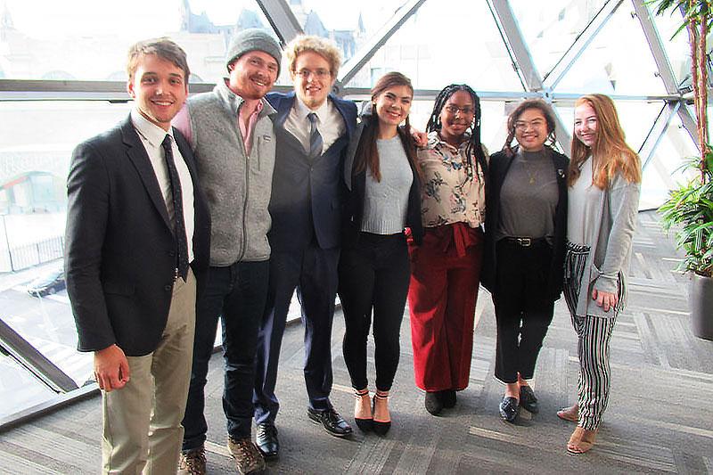 CNU Students at ILA Conference in Ottawa, Canada