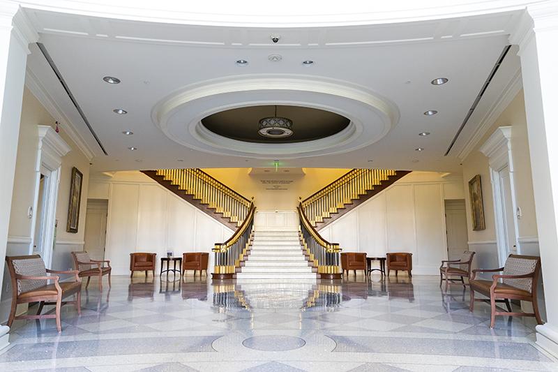 Forbes Hall lobby