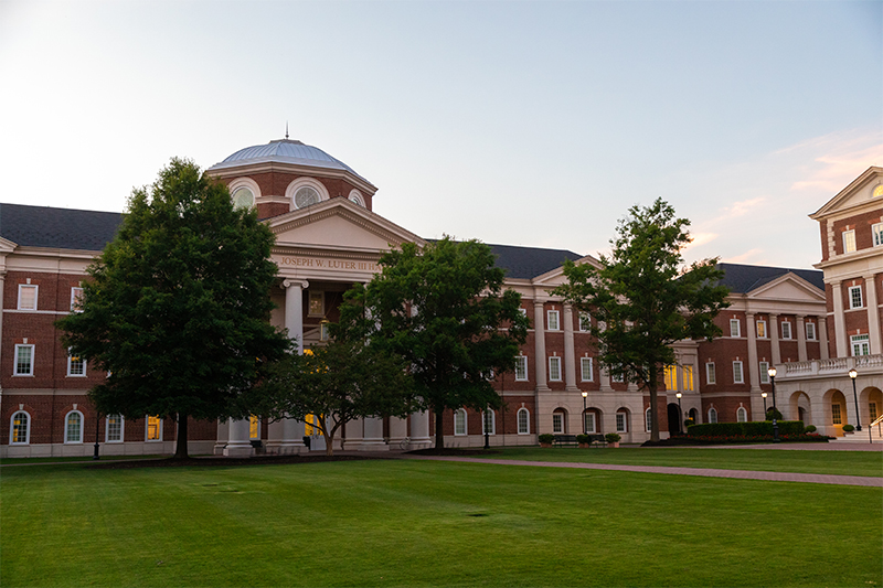 Luter Hall, Home to CNU's Communication Department