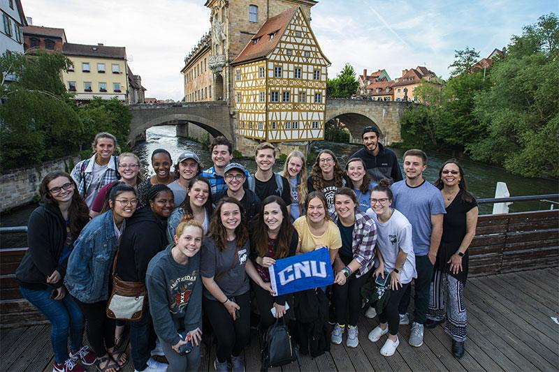 CNU students in Bamberg, Germany