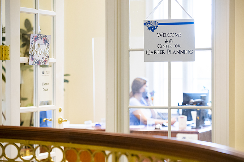 The Center for Career Planning Entrance