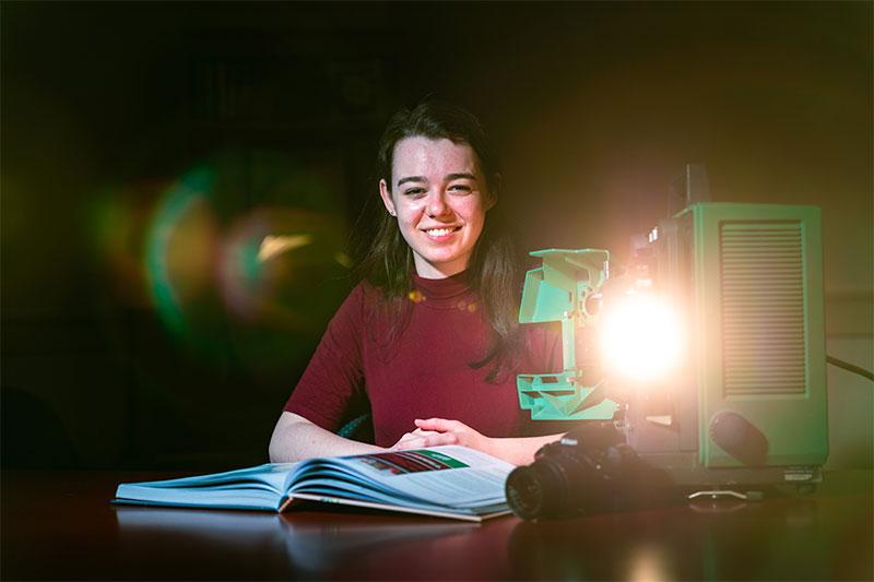 Interdisciplinary studies major Shannon Boerner