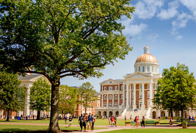 The Great Lawn at Christopher Newport University