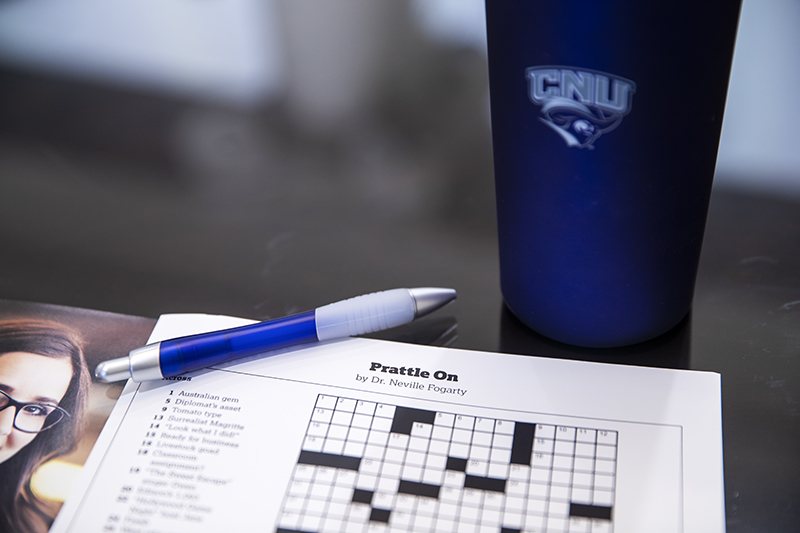 Prattle On is the title of the puzzle Fogarty wrote for the Fall 2020 issue of Voyages magazine.