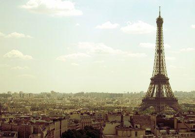 Paris, France skyline