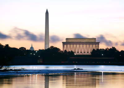 Washington DC at dawn