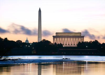 Washington DC at dawn