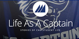 Current students share the stories of their time at work and play on the campus of Christopher Newport University.