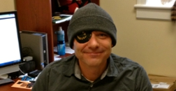 At first glance, Dr. Sherwin might resemble the Christopher Newport University Captains' own pirate with his eye patch, but have no fear; even though Dr. Sherwin may look intimidating on the outside, on the inside, he is a sweet and innocent professor dedicated to his research and teachings here at CNU.